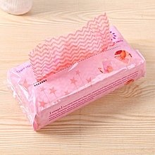 Kitchen Environmental One-off Removable Non-woven Cloth No-wash Duster Cloth (Pink)