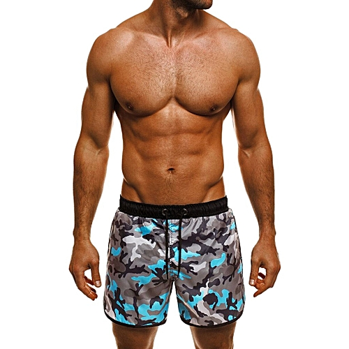 01c4189a384 Generic Men Trunks Swimwear Swimming Match Bathing Suit Shorts YE XL ...