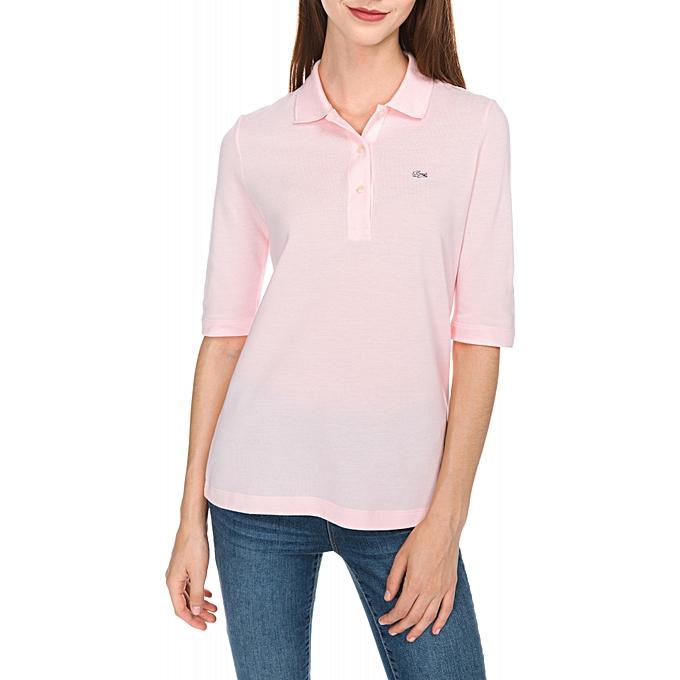 3a6a225ba1 Polo Shirt Pink Women