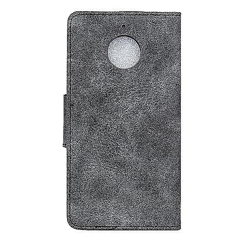 innovative design dba8b 342e8 Motorola Moto E4 Plus Case,Retro PU Leather Magnetic Flip [Cards Slot &  Stand] Anti-Scratch Durable Wallet Protective Cover for Motorola Moto E4  Plus/ ...