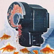 Automatic Fish Food Feeder Auto Timer Tank Pet Digital Aquarium Tank Pond-Black