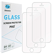 Iphone 5 5C 5se Tempered Glass Screen Protector  (3 Pack)