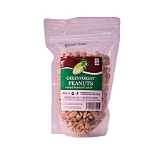 Peeled, Roasted and Salted Peanuts, 250g