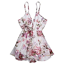 Cami Floral Holiday Romper