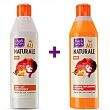 Au Naturale Conditioner + Shampoo- 250ml.