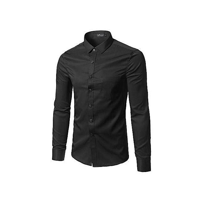 Official Shirt For Men,  100% Cotton - Black