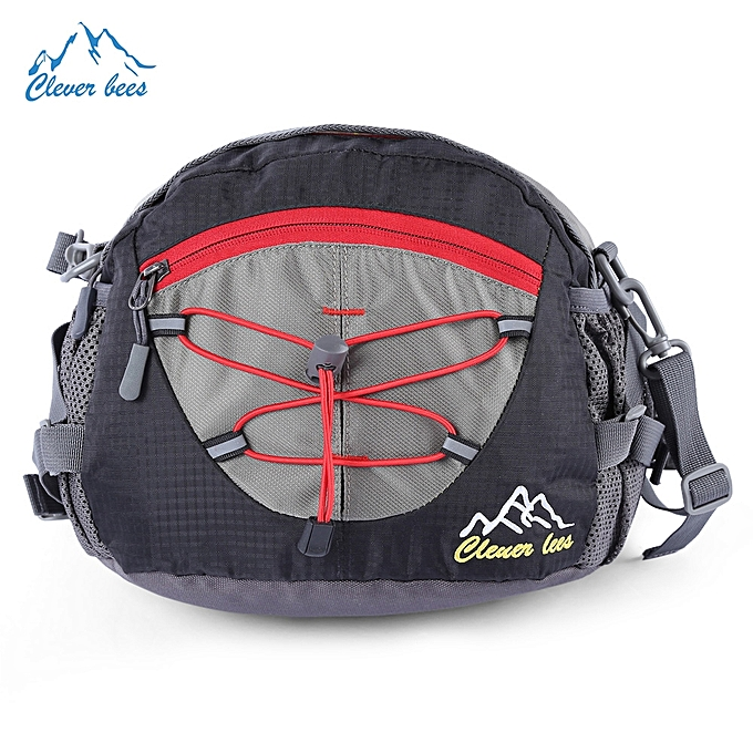 09a29d651dec Multifunctional Unisex Wear Resistant Waist Bag For Running Hiking Cycling  Camping Traveling - Black