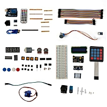 DIY Starter Learning Kit Suitable For Arduino MEGA 2560 LCD1602 Servo Motor multi-color mixed
