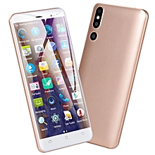 Mobile Phone Smartphone 5.0-Inch Android 6.0 (2MP+2MP) Dual-SIM 3G Smartphone-Gold