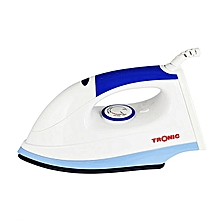1200W Dry Iron Box With Ceramic Soleplate - White & Blue