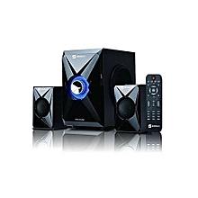 Sound System Subwoofer System SHT-1157  2.1CH Bluetooth Speaker - Black