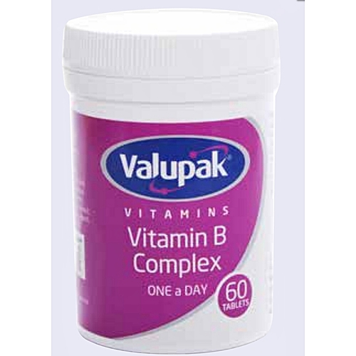 Vitamin B Complex One a Day - 60 tablets