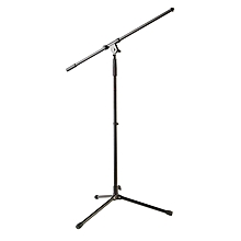 Musician's Gear Tripod Mic Stand with Fixed Boom - Black