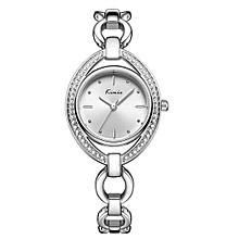 Exquisite Ladies Bracelet Luxury Watch K6293M - Silver