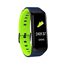 Calorie Blood Pressure Exercise Heart Rate Pedometer Smart Watch BDZ