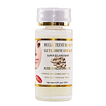 Hulle Teint Diamant, Glutathione Comprime Acide Hyaluronic + UV Strong Whitening body oil - 120ml