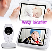 7.0inch 2.4GHz Wireless Infant Baby Camcorder TFT LCD Night Vision Intercom 4 Lullabies Temperature Detection Display # EU