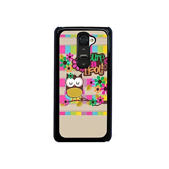 separation shoes 73e71 af5a8 Y&M Hot Sale Owl Mobile Phone Case Cover For LG G2 (Black)