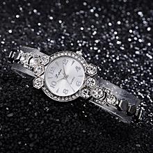 LVPAI Watches Women Quartz Wristwatch Clock Ladies Dress Gift Watches B-Silver