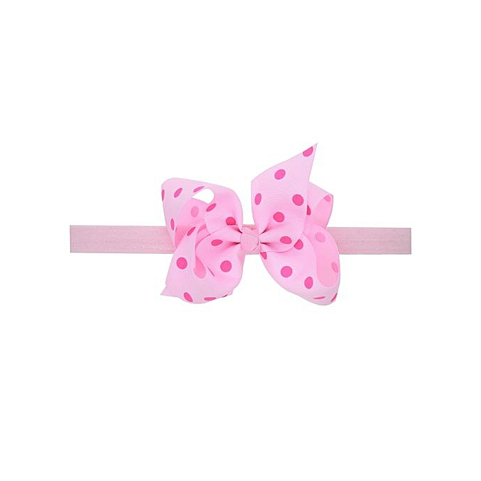 a2d870e3cf7 Braveayong 3PCS Baby Kids Girls Flowers Bowknot Elastic Hairband Headband  -As Shown