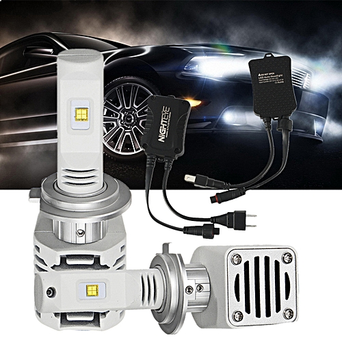 NIGHTEYE A328 N1 Car LED Headlight Bulbs H4 H7 H11 9005 9006 LED Bulb 80W  6000K - H11
