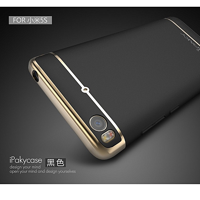 best service 13698 ce913 Xiaomi Mi5s Case Luxury Slim for XiaoMi Mi5s Cases 3 IN 1 PC Hard Cover For  Xiaomi Mi 5s Cover Shell/Handphone Casing 169703 c-3 (Color:Main Picture)