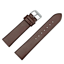 20mm Women Fashion Leather Watch Strap Watch Band Coffee