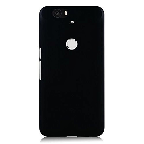 size 40 5d027 32a61 Hard Plastic Frosted Back Case Cover For Huawei Nexus 6P (Color:Black)