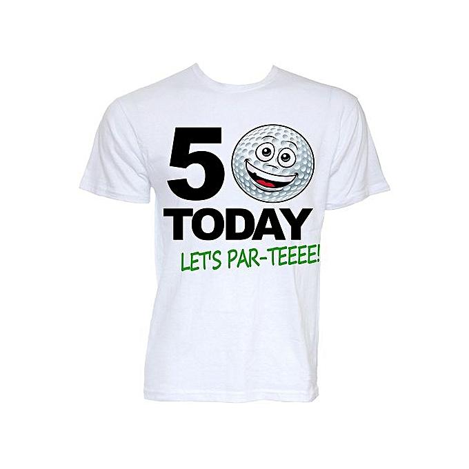 e1f3ce3a Beat Tees Clothing Mens Funny Novelty 50th Birthday Golfer Golf Themed Joke  Golfing Slogan Gifts T