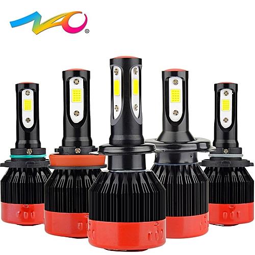 H4 led h7 led bulb H1 led lamp automobiles h11 12V car light hb4 9006 hb3  9005 h9 h8 9012 hir2 auto H7 headlights 72W 8400LM(6000K Cold White)