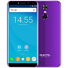 OUKITEL C8 3G Phablet 5.5 inch 2GB RAM 16GB ROM 2.5D Arc Screen Android 7.0 - PURPLE