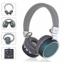 Bluetooth Headphones Over Ear 40mm Driver Wireless Headsets Foldable With Mic For Smartphone Bluetooth Devices - Green