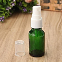15/30/50ml Green Glass Bottle With Fine Mist Spray For Perfume Essential Oil New [15ml]