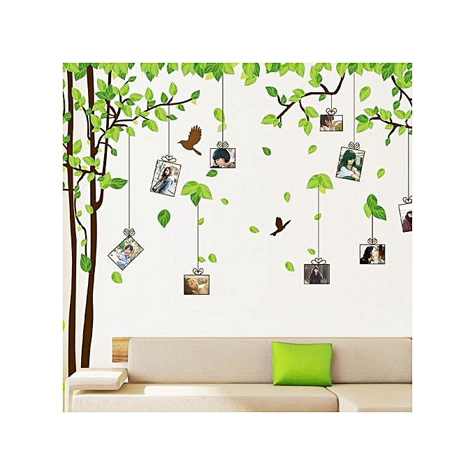Buy Skywolfeye Frame Tree Wall Stickers Muslim Vinyl Home Stickers