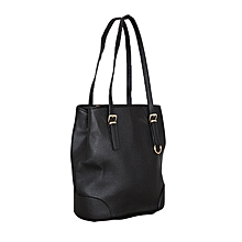 Black Hobo Style Handbag