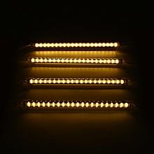4PCS 30cm 5630SMD LED Aluminum Rigid Fairy Strip Light Cabinet Bar Lamp 120? Plug In US