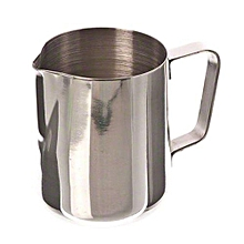 12 Oz Stainless Steel Pull Flower Cup Milk Pot Of Milk Cup