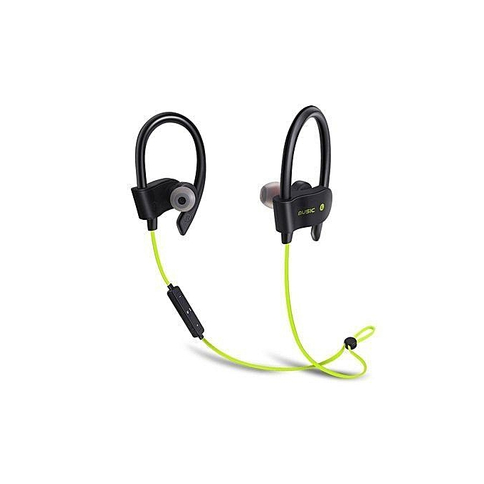 5e63324b807 Generic Bluetooth Headset 6H Playing Time, 56S wireless Bluetooth 4.1  headphones Earsband Sweatproof Earbuds with Mic (Black)