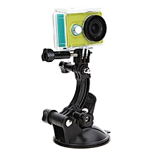 TELESIN T Model 8cm Suction Cup Bracket Car Sucker For Gopro Hero 4 3 Plus Xiaomi Yi SJ4000 Camera