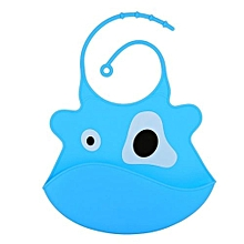 Silicone Waterproof Washable Soft Cartoon Baby Bibs Apron Lot #2