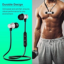 Wireless Bluetooth In-Ear Headphone , Magnetic Stereo Sports Headphone,Support Hands-Free Calling With Mic