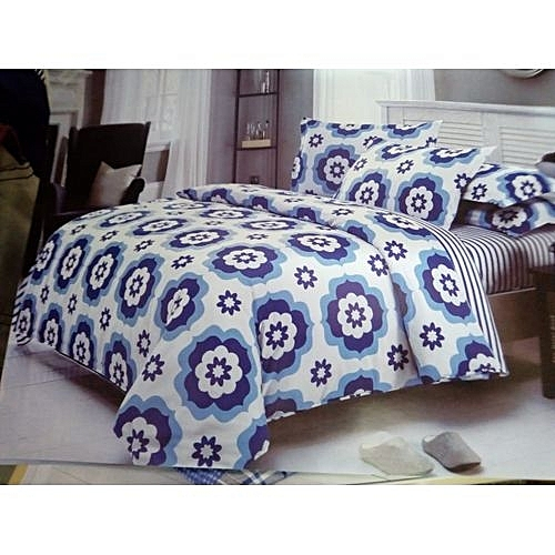 Duvet With One Bed Sheet And Two Pillow Cases