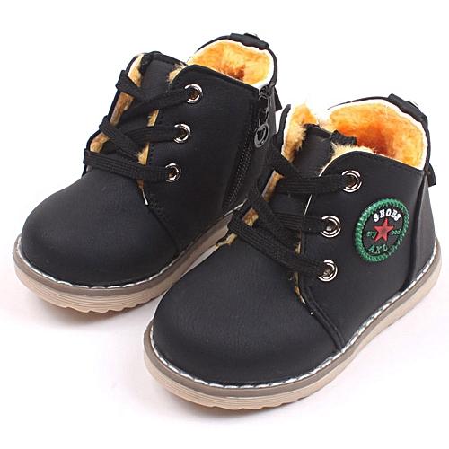7fe2e0b0a15 Neworldline Children Shoes Boys Girls Sport Shoes Baby Fashion Toddler Kid  Sneakers BK 21-Black