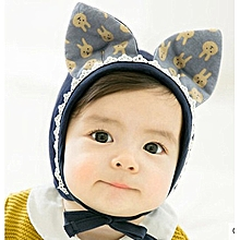 85e48a4e87b Cute Rubbit Ears Baby Girl Hat Soft Baby Bonnet Hats Beanie Cap Baby Boys  Girls Newborn