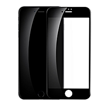 BASEUS for iPhone 8 Plus/7 Plus 5.5 inch 3D Curved Soft PET Full Screen Tempered Glass Protector Film 0.23mm - Black FCJMALL