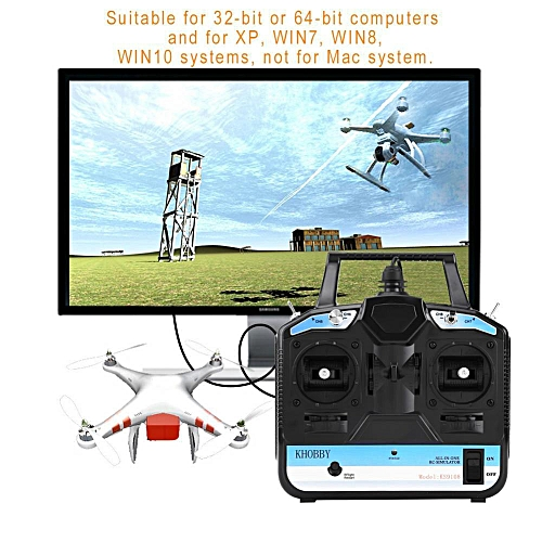 SHANYU 8CH RC Flight Simulator With Disk For Phoenix 5 0 RC Multi-copters  Helicopter