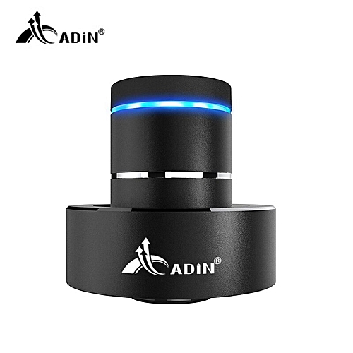 ADIN Mini Metal Vibration Bluetooth Speaker NFC Touch HIFI Subwoofer  Wireless Speaker 360 Stereo Super Bass Sound Loudspeaker GDMALL