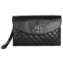Women PU Leather Single Shoulder Crossbody Sling Bags Ladies Envelope Bag black