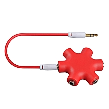 Bakeey Audio Splitter 3.5mm jack 1 Male to 2 3 4 5 Female Cable Adapter for Mobile Phone