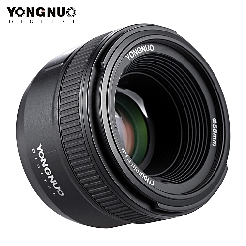 YONGNUO YN50mm F1 8 Large Aperture AF Auto Focus FX DX Full Frame Lens for  Nikon